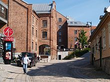 Part of the old factory part of Moss, Norway, with cinema and library.jpg