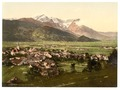 Partenkirchen, general view, Upper Bavaria, Germany-LCCN2002696273.tif
