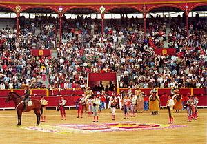 Plaza de toros de Acho - Parade