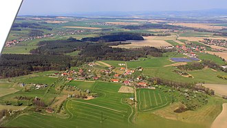 Hřibiny-Ledská - Air photo