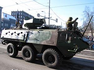 Kalev Infantry Battalion - Sisu XA-180 in Estonian service.
