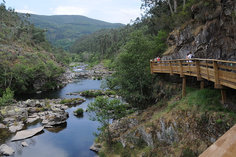 Pasarelas del río Paiva Passadiços do Paiva Portugal