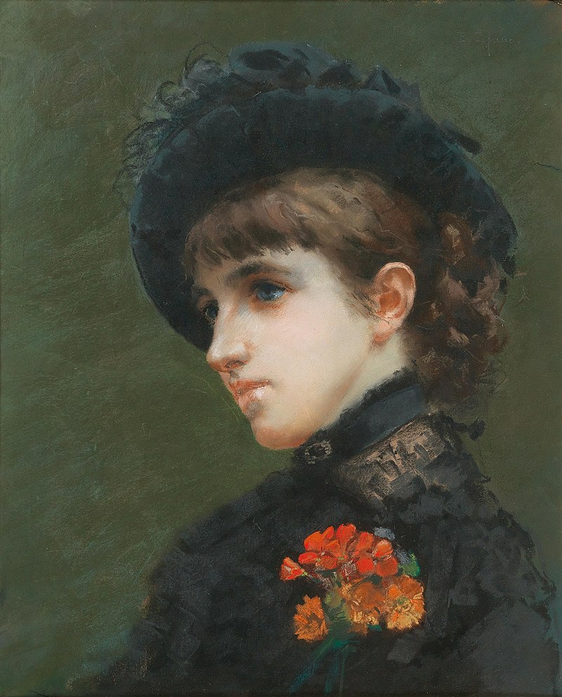 Pastell - Die Pariserin - Эдоардо Тофано.jpg