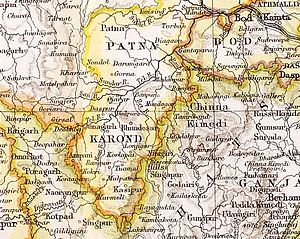 Patna (princely state) - Patna and Karond (Kalahandi) State in the Imperial Gazetteer of India