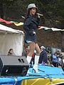 Patricia Javier performing at 14th AF-AFC 15.JPG
