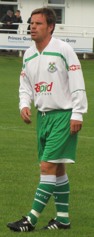 Paul Harsley - Harsley playing for North Ferriby United in 2011