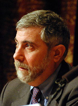 Equality of outcome - Economist Paul Krugman in 2008.