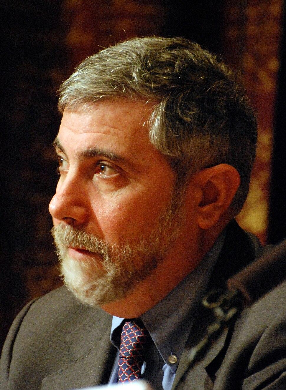Paul Krugman-press conference Dec 07th, 2008-3