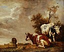 Paulus Potter - Three Cows in a Pasture.jpg