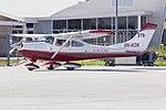 Pay's Air Service (VH-KON) Cessna 182K Skylane taxiing at Wagga Waga Airport.jpg