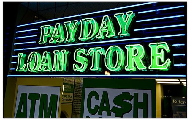 From commons.wikimedia.org: Payday-loan-store {MID-290845}