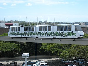 Pearlridge - The Pearlridge Monorail