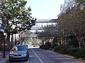 Pedestrian bridge, SE 2nd Pl, Gainesville FL.JPG