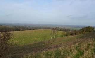 Pegsdon Hills and Hoo Bit nature reserve in the United Kingdom