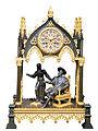 Pendule en bronze représentant François 1er et Marguerite de Navarre-02.jpg
