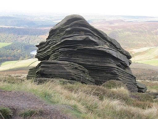 Pennine Way, rocks on Kinder Scout, Peak District, Derbyshire (8120100239)