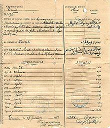 Passeport Algerien Wikipedia