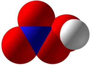 Peroxynitric acid - Image: Peroxynitric acid Space Fill