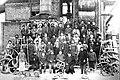 Personalul furnalului la 1890 - arhiva Pilu Gaina.jpg