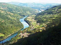 Perućac and the Drina river - Перућац и Дрина.JPG