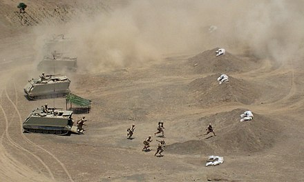 Peruvian Army military exercise