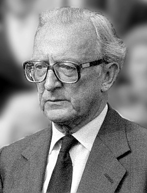 Peter Carington, 6th Baron Carrington - Peter Carington in 1984