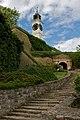 Petrovaradinska tvrdjava sat i stepenice.jpg
