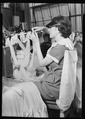 Philadelphia, Pennsylvania - Hosiery. Minnesac Mills. (Woman draping stockings.) - NARA - 518687.tif