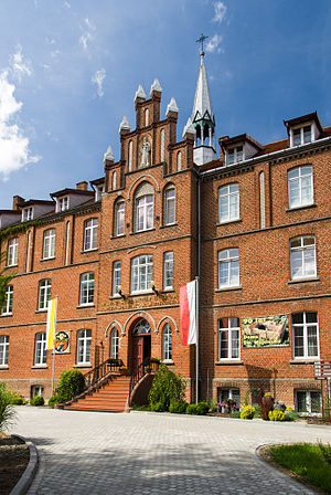 Society of the Divine Word - Divine Word Missionaries Seminary in Pieniężno, Poland.
