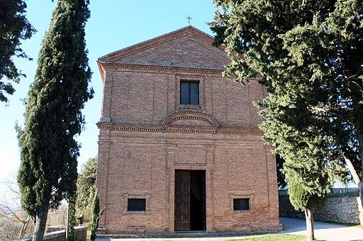 Pienza, Chiesa di Santa Caterina