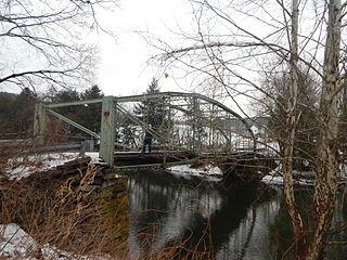 Bridge in Nicholson Township bridge in United States of America