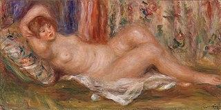 Nude Woman Reclining (Femme nue couchée sur le dos)