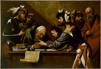 Pietro della Vecchia - The fortune teller
