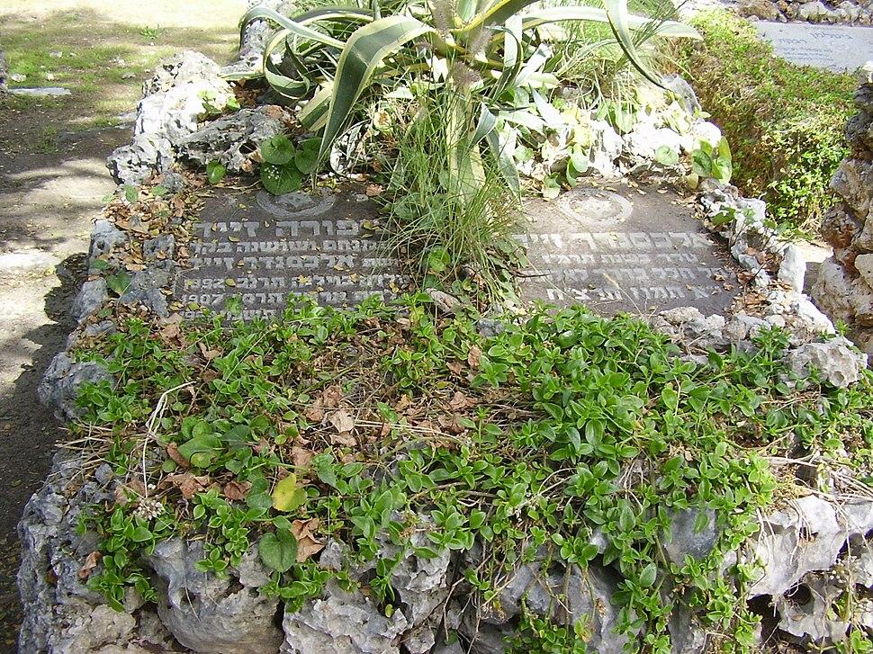 PikiWiki Israel 8073 grave of alexander & zipora zeid