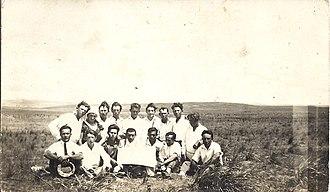 Tzofit - Founders of Tsofit, c. 1932 - 1934