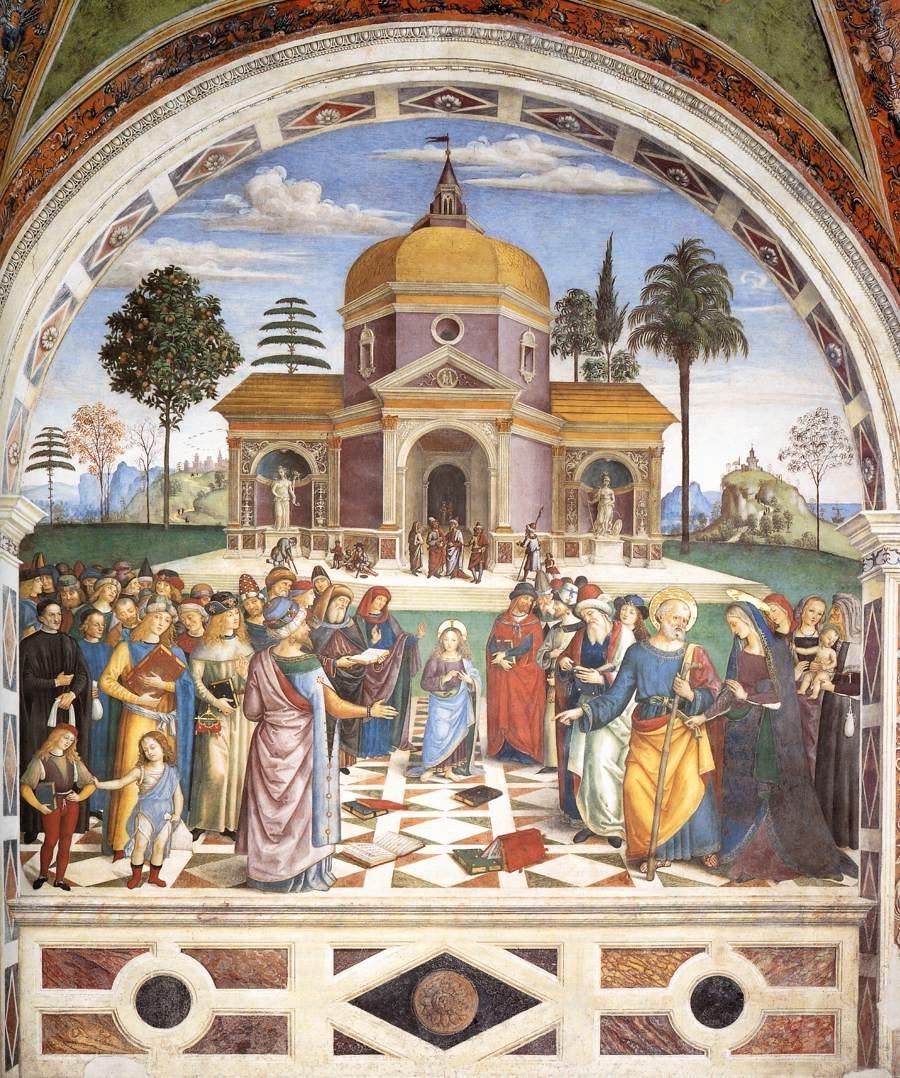Pinturicchio - Christ among the Doctors - WGA17774