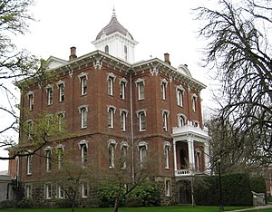 Pioneer Hall (Oregon) - Image: Pioneer Hall Linfield College Mc Minnville Oregon