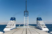 Piraeus from ferry to Aegina, Greece.jpg