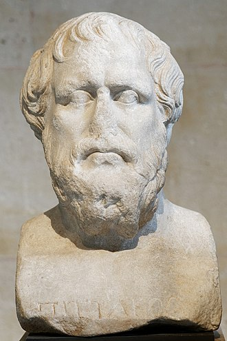 Pittacus of Mytilene - Bust of Pittacus, Roman copy of a Greek original of the Late Classical period, Louvre