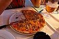 Pizza Capricosa in restaurant Spalato in Vodice - panoramio.jpg