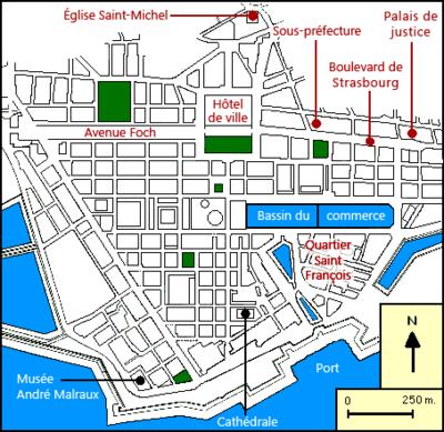 Plan De Nancy Centre Ville