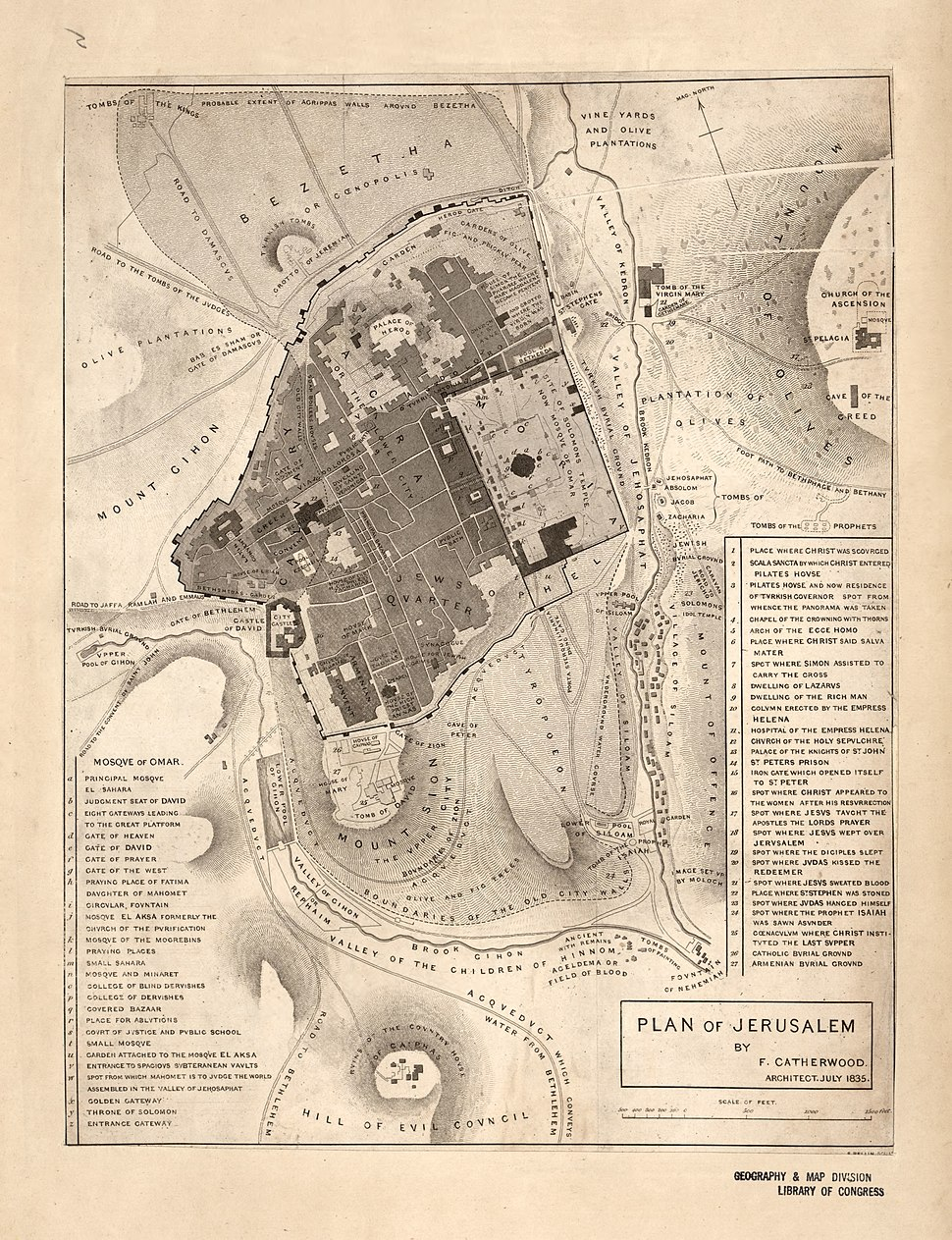Plan of Jerusalem LOC 2009579461