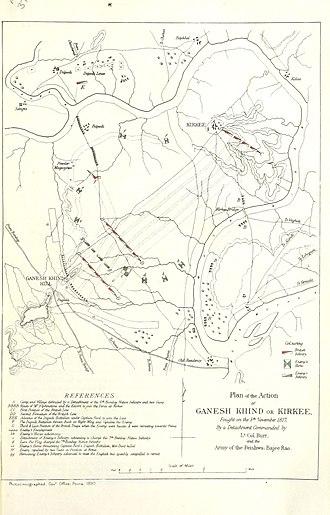 Battle of Khadki - Plan of action