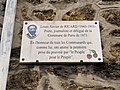 Plaque Louis Xavier Ricard Fontenay Bois 1.jpg