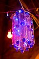 Plastic Bottles and LED Lights repurposed as a chandelier during Ramadan in Muslim Quarter, Jerusalem 2011.jpg
