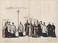 Plate 13- Members of the clergy marching in the funeral procession of Archduke Albert of Austria; from 'Pompa Funebris ... Alberti Pii' MET DP874748.jpg