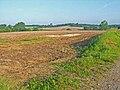 Ploughed fields near Brent Eleigh - geograph.org.uk - 185886.jpg