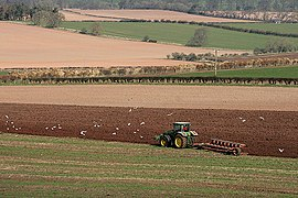 Ploughing a field at Smailholm (geograph 2333190).jpg