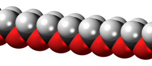Polyoxymethylene - Image: Polyoxymethylene 3D spacefill