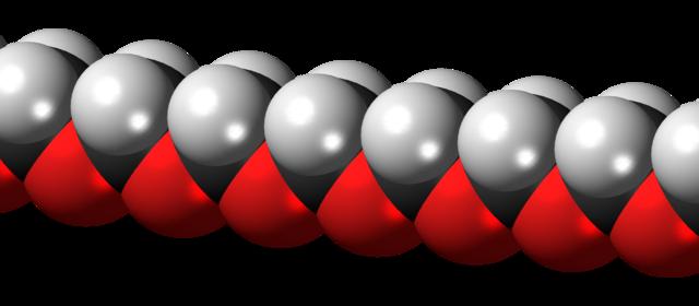 estrutura molecular do poliacetal